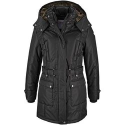 Płaszcz zimowy bonprix czarny