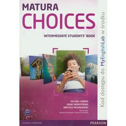 Matura Choices Intermadiate Student\'s book + MyEnglishLab (opr. miękka)