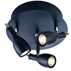 Spot LAMPA sufitowa LAMMHULT 102388 Markslojd reflektorowa OPRAWA halogenowa czarna