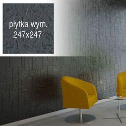 Płytki Grafitowe Kafelki COMPONER Mozaika Szklana 247x247mm