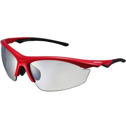 Okulary SH EQX2 PH Gloss Red Photochromic Grey Shimano