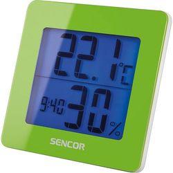Sencor SWS 15GN Termometr z pomiarem wilgotności + Zegar z budzikiem