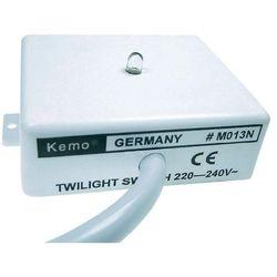 Wyłącznik zmierzchowy - zestaw Kemo M013N, 220 - 240 V / AC, 3 A/230 V