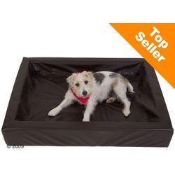 Higieniczne legowisko dla psa, tabac - Dł. x szer.: 60 x 50 cm