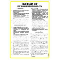 Instrukcja BHP przy obsłudze kuchni mikrofalowej
