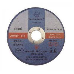 Tarcza do cięcia metalu 125/1.0mm INOX