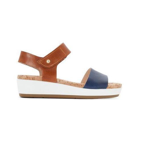364a6e7060f235 Skórzane sandały na platformie Mykonos W1G - porównaj zanim kupisz