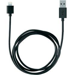 Kabel USB 2.0, Belkin F8J023bt2M-BLK, do iPoda, iPhone'a, iPada, złącze Lightning, 2 m, czarny
