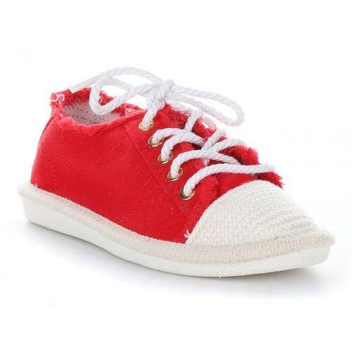 5fd09efeb6e3a Modne Tenisówki Damskie Czerwone - porównaj zanim kupisz
