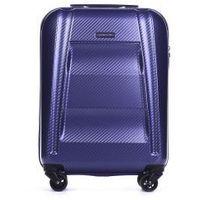 6d1da1184f8c3 PUCCINI walizka mała/ kabinowa z kolekcji NEW YORK PC017 twarda 4 koła  materiał Policarbon zamek