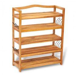 Drewniana półka na buty 5 poziomowa Zapisz się do naszego Newslettera i odbierz voucher 20 PLN na zakupy w VidaXL!