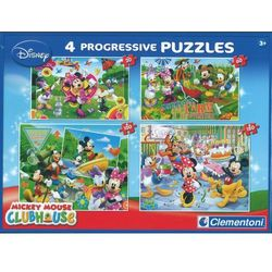 Clementoni, puzzle Myszka Miki