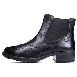 506548db12d25 Geox buty za kostkę damskie Ettiene 40 czarny - BEZPŁATNY ODBIÓR: WROCŁAW!