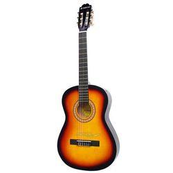 Suzuki SCG-2 1/4 SB gitara klasyczna 1/4 brązowa podpalana