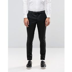 Jack & Jones Premium Skinny Suit Trousers In Black - Black