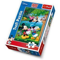 Puzzle 60 Myszka Miki Piknik TREFL