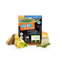 Górskie fondue - 4 sery z grzankami