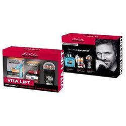 ZESTAW L'OREAL Men Expert Hydra Energetic kosmetyki męskie - woda po goleniu 100ml + Vita Lift 5 krem nawilżający przeciw starzeniu 50ml + Carbon Protect 4in1 dezodorant Roll-On 50ml