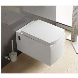 MARCUS Miska WC wisząca + deska wolnoopadająca
