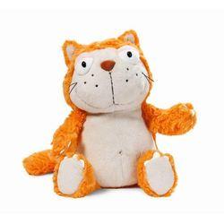 Nici, maskotka, kot, pomarańczowy, 25 cm Darmowa dostawa do sklepów SMYK