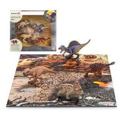 SCHLEICH Dinozaury z puzzlami, Lawa