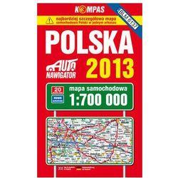 Polska 2013 Mapa Samochodowa 1:700 000 (opr. twarda)