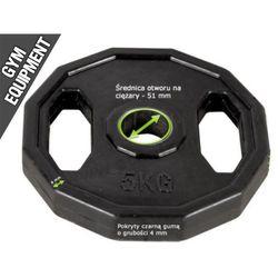 Kelton GYM EQUIPMENT obciążenie olimpijskie 5 kg czarne fi 51,5 mm (wielokąt)