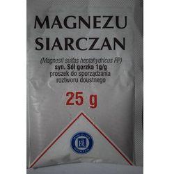 Magnesium sulfur. sol gorzka x 25g