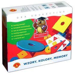 ALEXANDER Gra Memory Wzory, Kolory (0457)