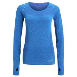 Nike Performance Bluzka z długim rękawem deep royal blue/photo blue/reflective silver