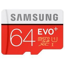 Karta SAMSUNG microSDXC 64 GB + adapter SD