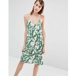 Selected Fara Printed Cami Dress - Green