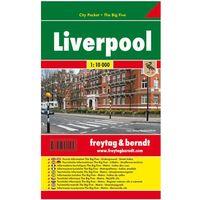 Liverpool city pocket mapa 1:10 000 Freytag & Berndt (opr. miękka)
