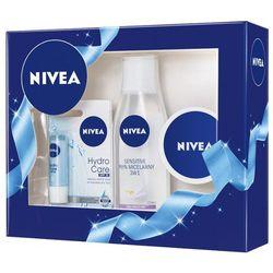 NIVEA Face Zestaw kosmetyków dla kobiet (krem + płyn micelarny + pomad