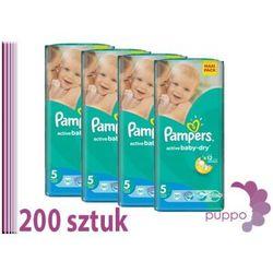 PAMPERS pieluszki Active Baby 5 Junior 200 sztuk