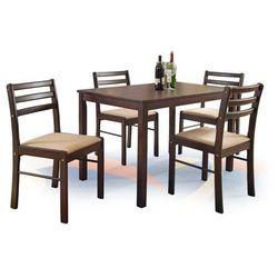 Zestaw HALMAR NEW STARTER Stół + 4 krzesła