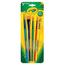 Crayola Zestaw Pędzelków 5 szt