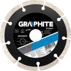 Tarcza do cięcia GRAPHITE 57H616 125 x 1.5 x 22.2 mm diamentowa segmentowa