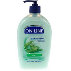 On Line Pielęgnacyjne mydło w płynie Aloes 500 ml