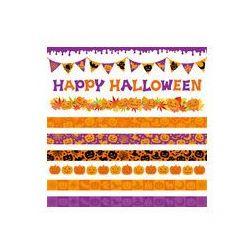 Foto naklejka samoprzylepna 100 x 100 cm - Halloween linia baner reklamowy