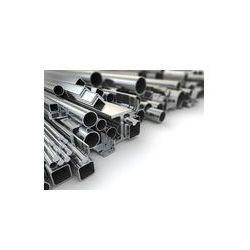 Foto naklejka samoprzylepna 100 x 100 cm - Profil metalu i rur stalowych.