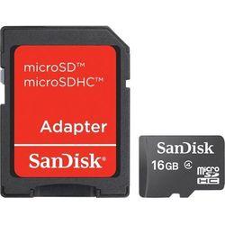 Karta SANDISK microSDHC/16GB
