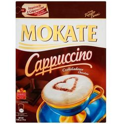 Mokate Cappuccino czekoladowe 110g torba