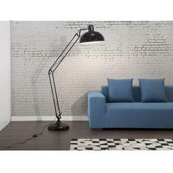 Lampa stojaca czarna - lampa podlogowa - lampa biurowa - oswietlenie - PARANA