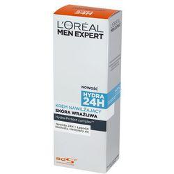 Loreal Paris Men Expert Nawilżajacy krem do twarzy dla mężczyzn do skóry wrazliwej Hydra 24h 75 ml