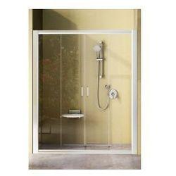 Drzwi prysznicowe NRDP4 Ravak Rapier 160cm, satyna + transparent 0ONS0U00Z1