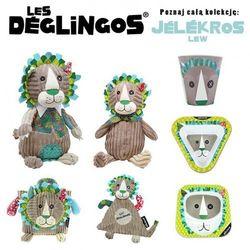 Les Deglingos 3 częściowy zestaw z melaminy Lew Jelekros