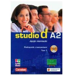 Studio D A2 Tom 1 Język Niemiecki Podręcznik z Ćwiczeniami z Płytą CD (opr. miękka)