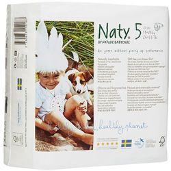 NATY Ekologiczne pieluchy 5 (11-25kg) 23szt pieluszki jednorazowe