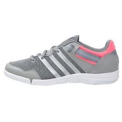adidas Performance ILAE Obuwie do tańca medium grey heather/chalk white/flash red